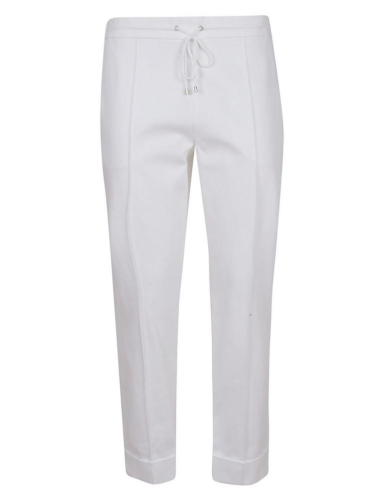 Kenzo Slim Fit Track Pants in white