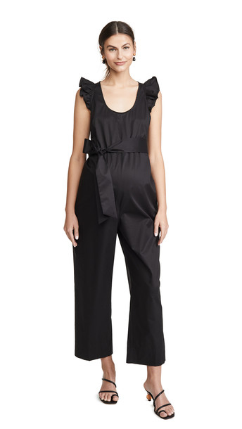 HATCH The Lianne Jumpsuit in black