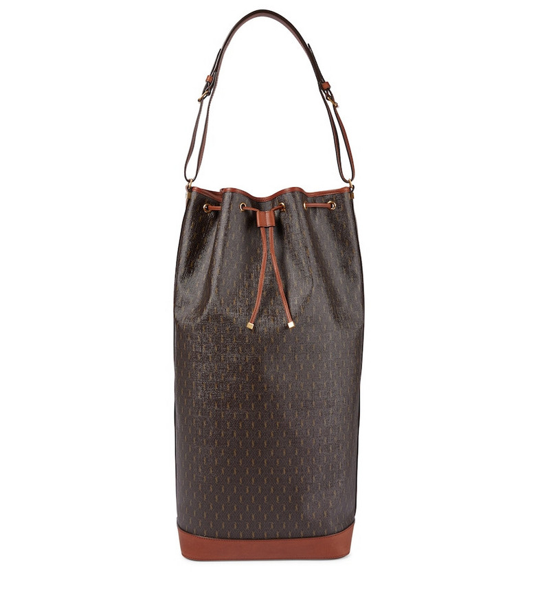 Saint Laurent Le Monogramme Large bucket bag in brown
