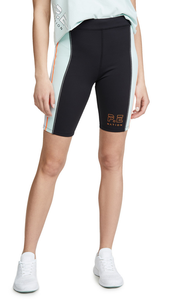 P.E NATION Camber Shorts in black