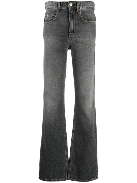 Isabel Marant Étoile classic bootcut jeans in grey