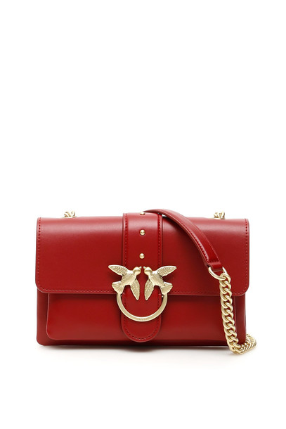 Pinko Mini Love Soft Bag in red