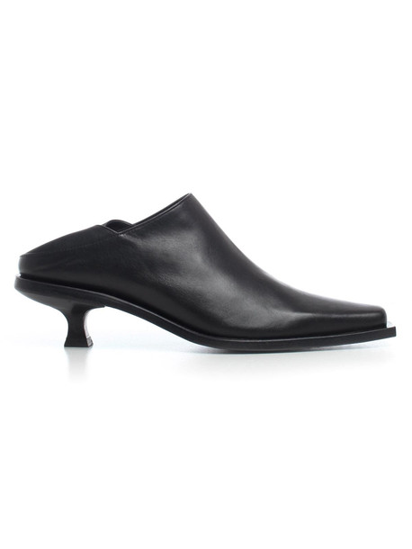 Ann Demeulemeester Ann Demeulemester Almond Toe Mules in black