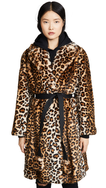 Marc Jacobs The Faux Fur Coat in multi