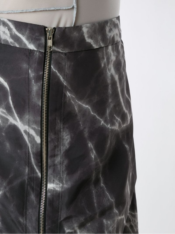 Uma - Raquel Davidowicz Riley marbled skirt in black