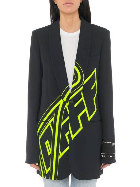 Off-white Logo Print Jacket