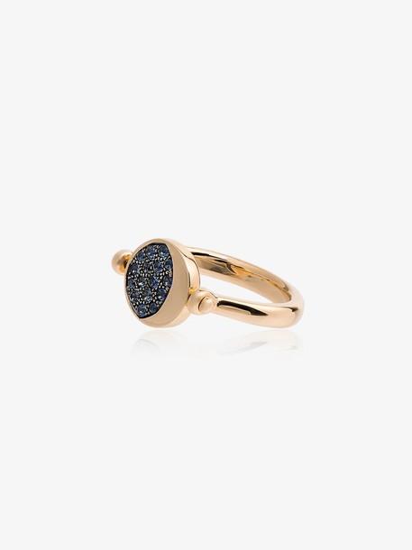 Pamela Love reversible moon phase ring in metallic