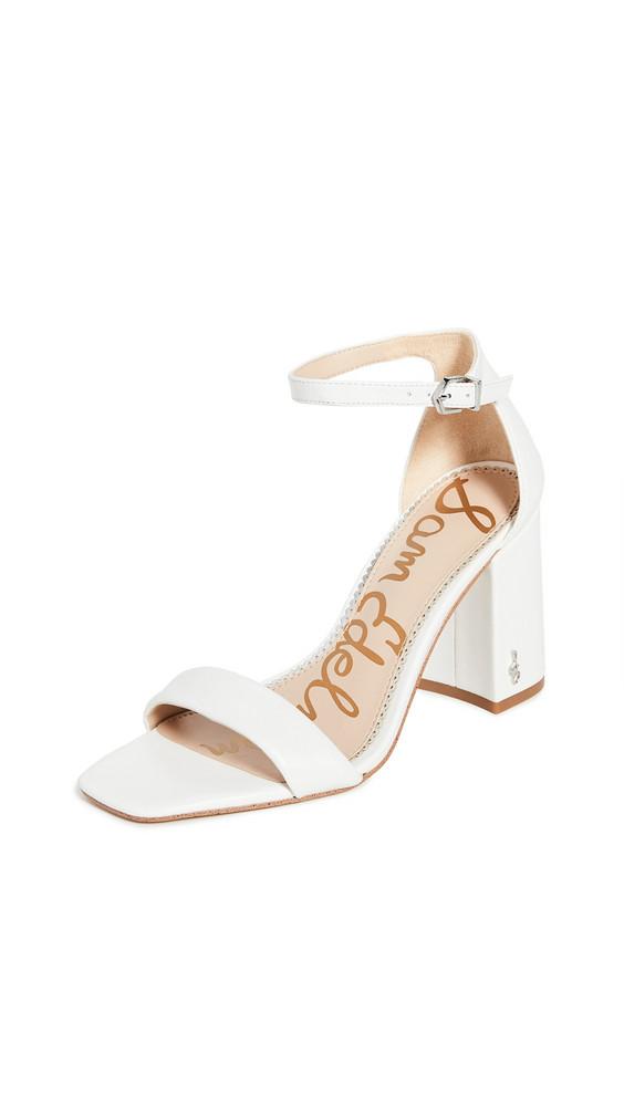 Sam Edelman Daniella Sandals in white