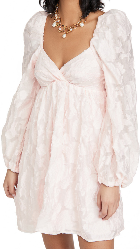 Sister Jane Candy Floss Mini Dress in pink