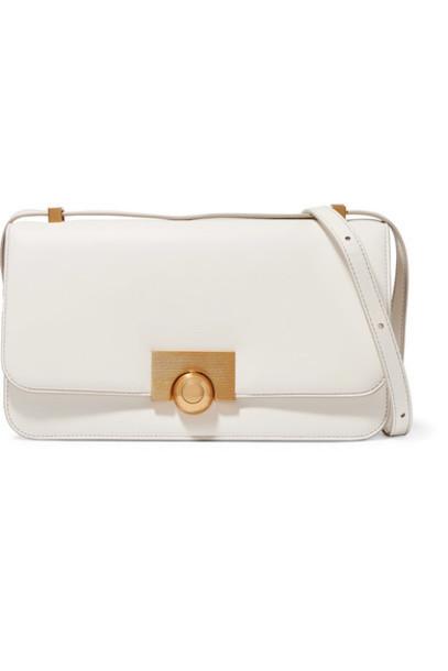 Bottega Veneta - Leather Shoulder Bag - White