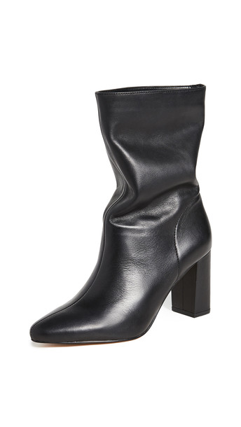 Villa Rouge Loden Boots in black