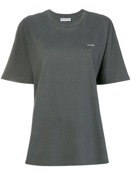 Balenciaga Cocoon T-shirt in grey