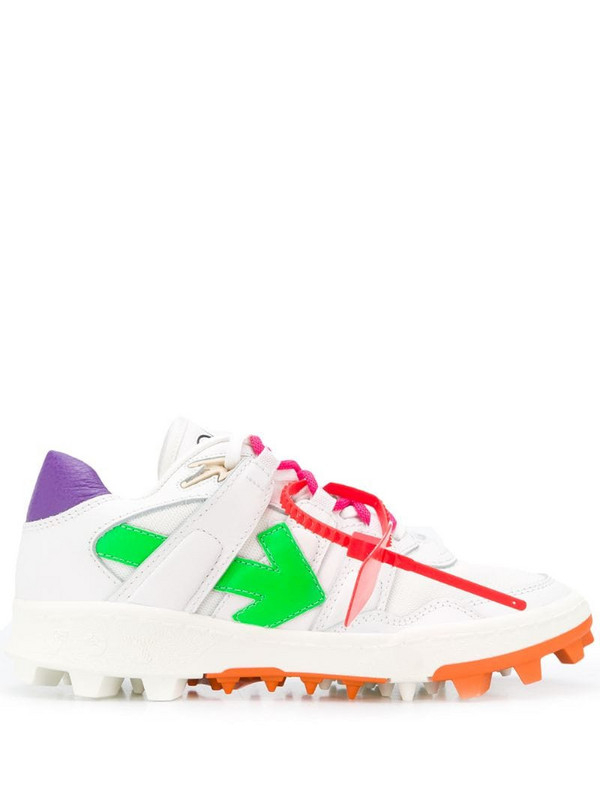 Off-White Mountain Cleats low-top sneakers in white