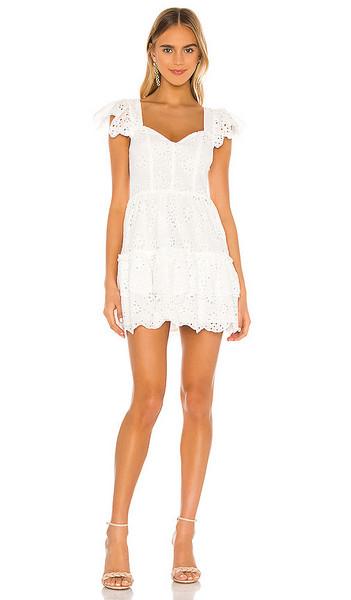 Lovers + Friends Lovers + Friends Sorrento Dress in White