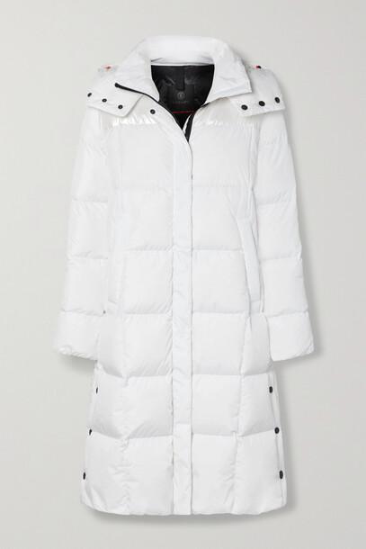 BOGNER FIRE+ICE BOGNER FIRE+ICE - Barna Hooded Quilted Shell Down Coat - White