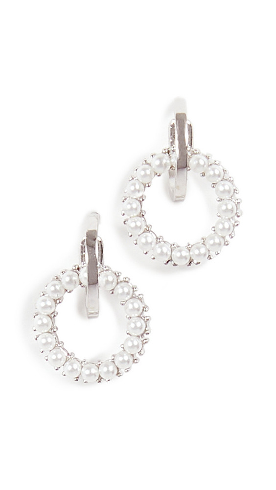 Shashi Petite Coco Earrings in silver