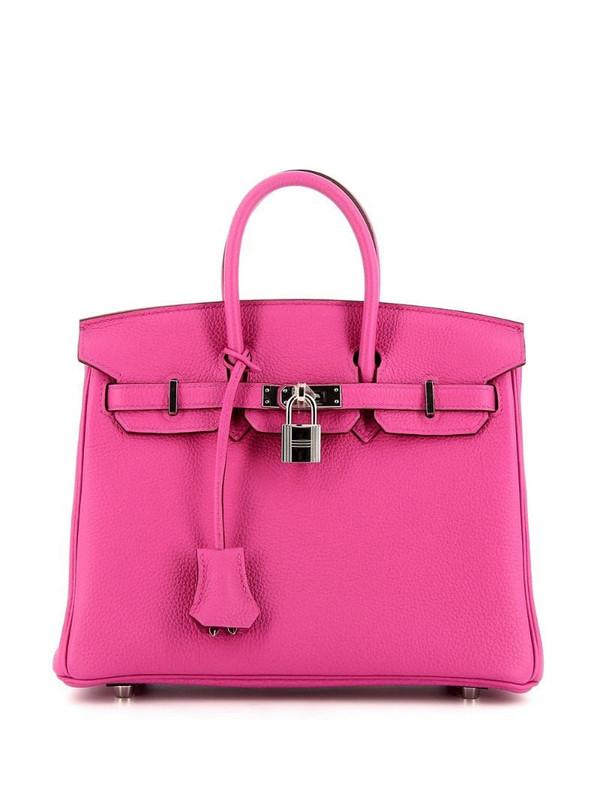 Hermès 2018 pre-owned Birkin 25 bag in pink