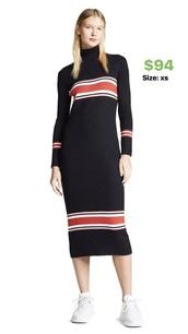 dress,turtleneck,maxi dress