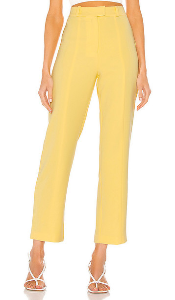 Lovers + Friends Lovers + Friends Margo Pant in Yellow