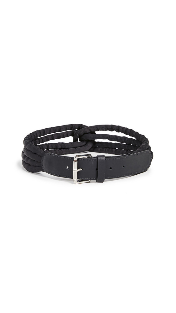 Rachel Comey Twist Belt in black