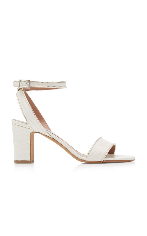 Tabitha Simmons Leticia Leather Sandals in white