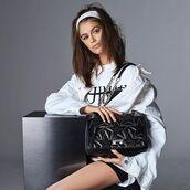bag,kaia gerber,model,purse,celebrity