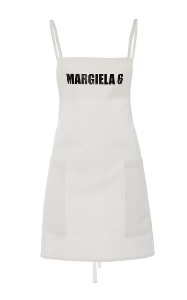 MM6 Mm6 Cotton Apron Top in white