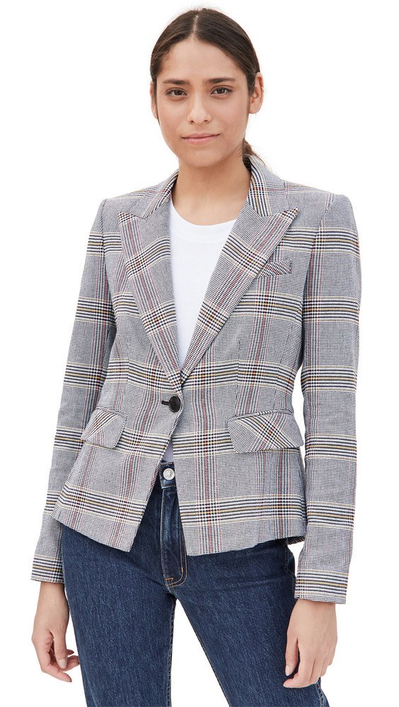 Veronica Beard Danielle Dickey Jacket in blue / multi
