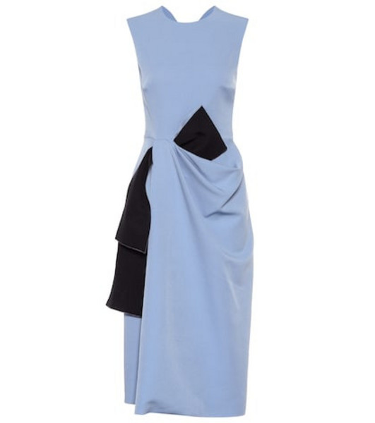 Roksanda Ricciarini cady dress in blue