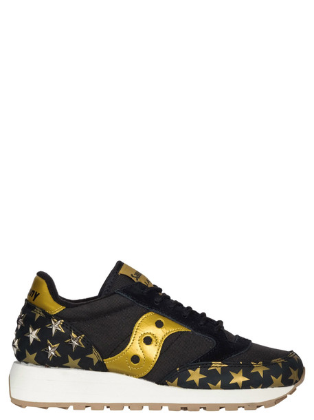 Saucony Jazz Triple Star Sneakers in black / gold