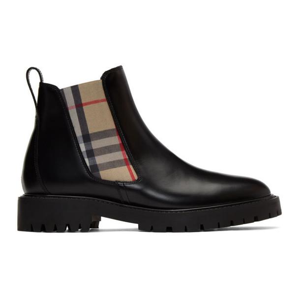 Burberry Black Allostock Boots
