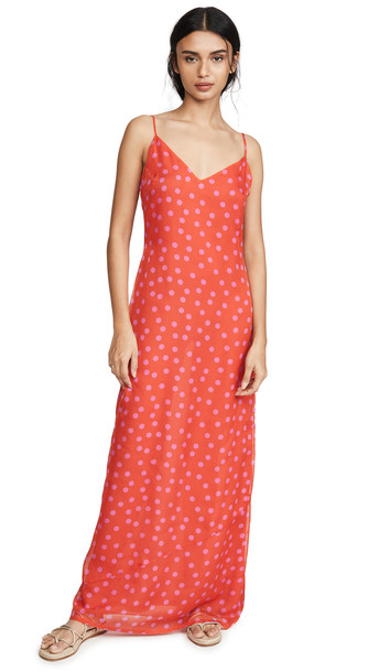 Eywasouls Malibu Sophia Dress in pink / print