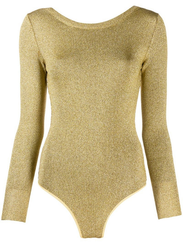 Forte Forte Oro knit body in gold