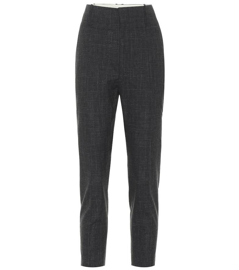 Isabel Marant, Étoile Noah high-rise wool-blend pants in black