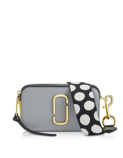 Marc Jacobs Dots Strap Snapshot Camera Bag in gray