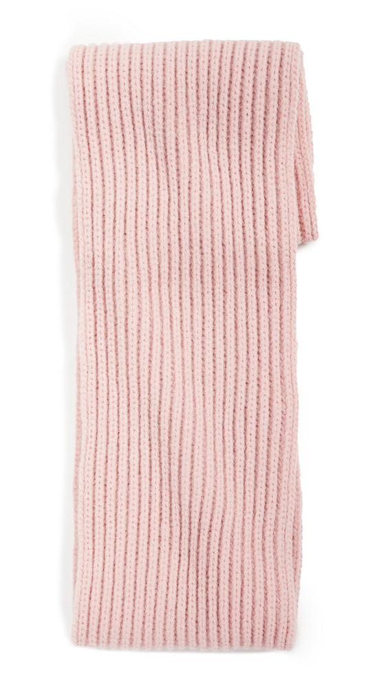 Hat Attack Cabin Loop Scarf in pink