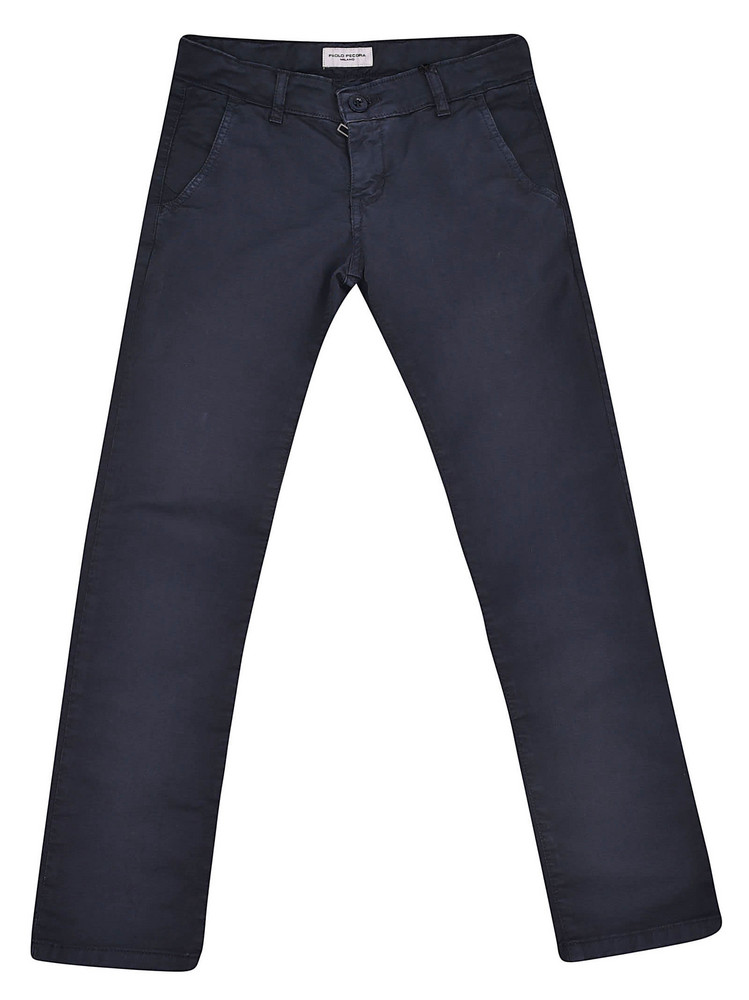 Paolo Pecora Classic Trousers in blue