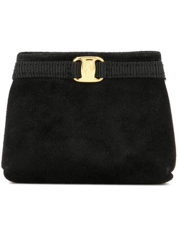 Salvatore Ferragamo Pre-Owned Vara bag keychain in black