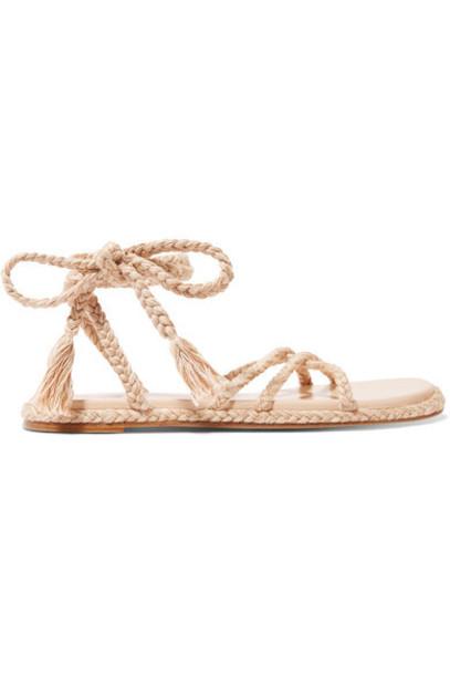 Antolina - Bia Braided Cotton Sandals - Beige