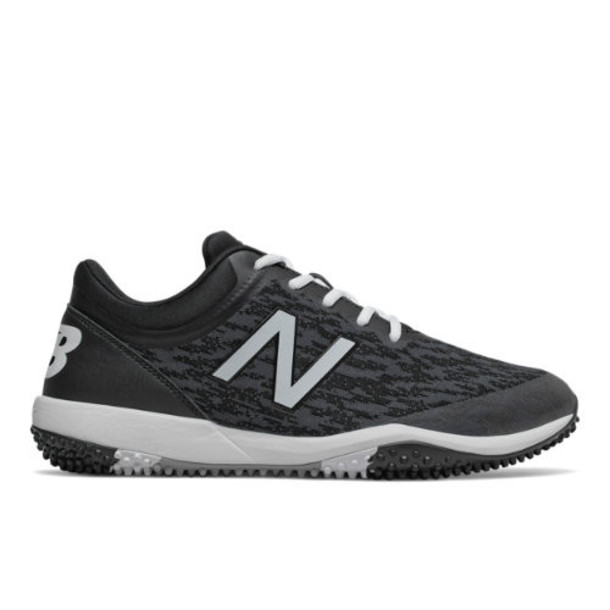 New Balance 4040v5 Turf Men's Cleats and Turf Shoes - Black/White (T4040BK5)