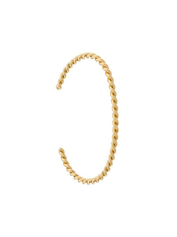 Isabel Lennse twisted cuff bracelet in gold
