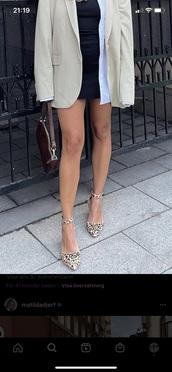 shoes,leopard ballerina,matilda djerf,leopard print,leopard heels,beige,beige shoes,sandals,heels,ballerina