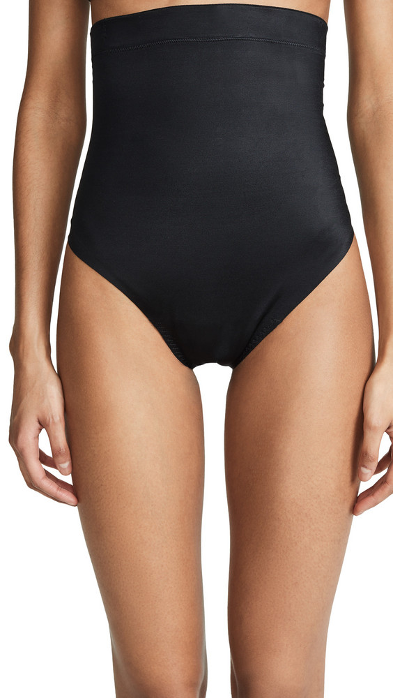 SPANX Suit Your Fancy High-Waisted Thong in black