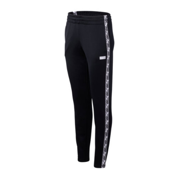 New Balance 93503 Women's NB Athletics Classic Track Pant - Black/White (WP93503BK)