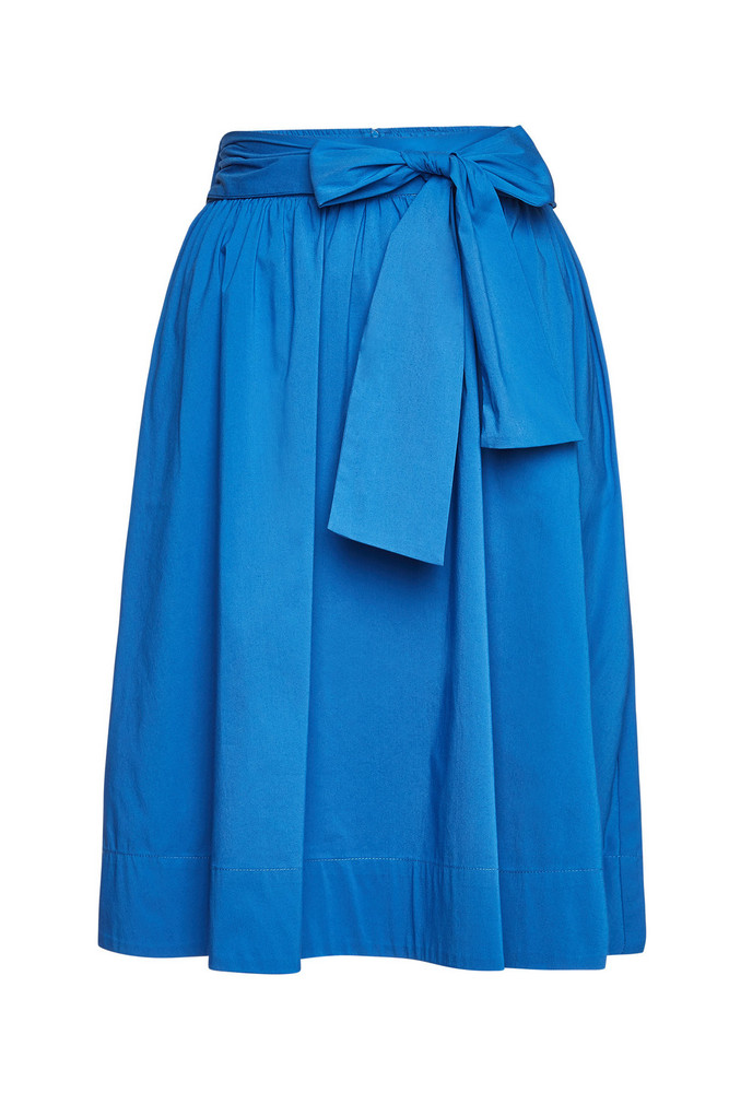 Steffen Schraut Skirt with Cotton  in blue