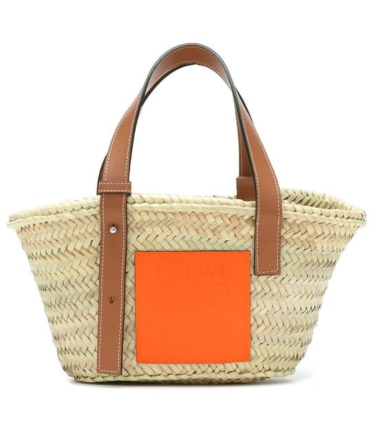 Loewe Paula's Ibiza Small basket bag in beige