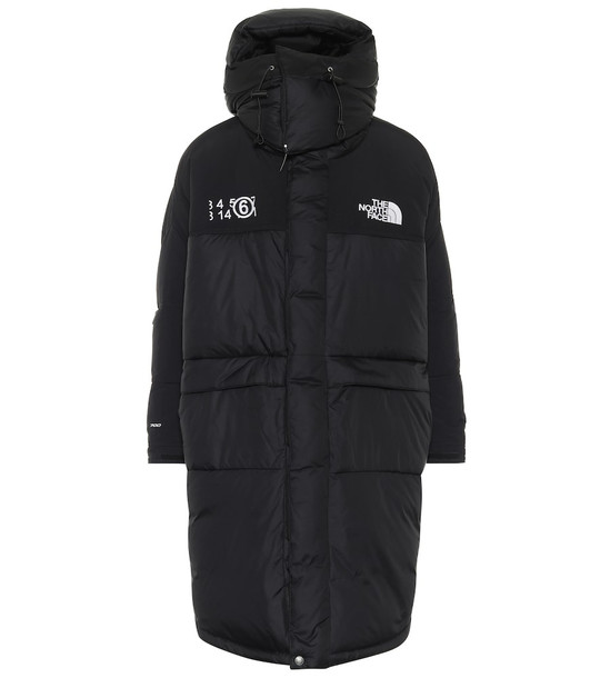 MM6 Maison Margiela x The North Face Himalayan down coat in black