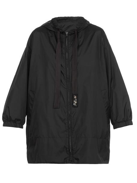 Max Mara Aparka Overcoat in black
