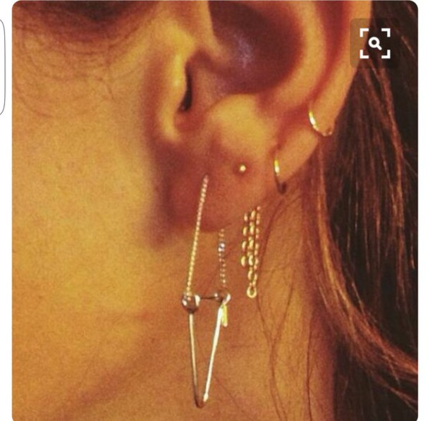 jewels earring jewlery minimalist jewelry tiny jewely