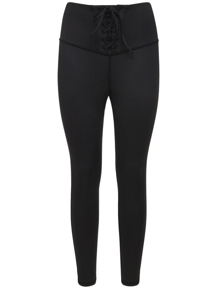 MICHI Rebel Gloss Leggings in black